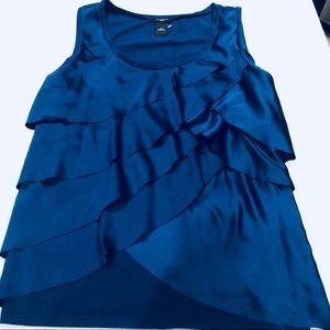 Ann Taylor Sleeveless Top - Beautiful Blue Size M